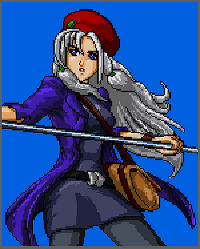 Cosmic Star Heroine artwork