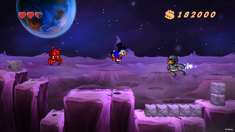 DuckTales Remastered Luna 06 DuckTales Remastered a la venta, tráiler de La Luna