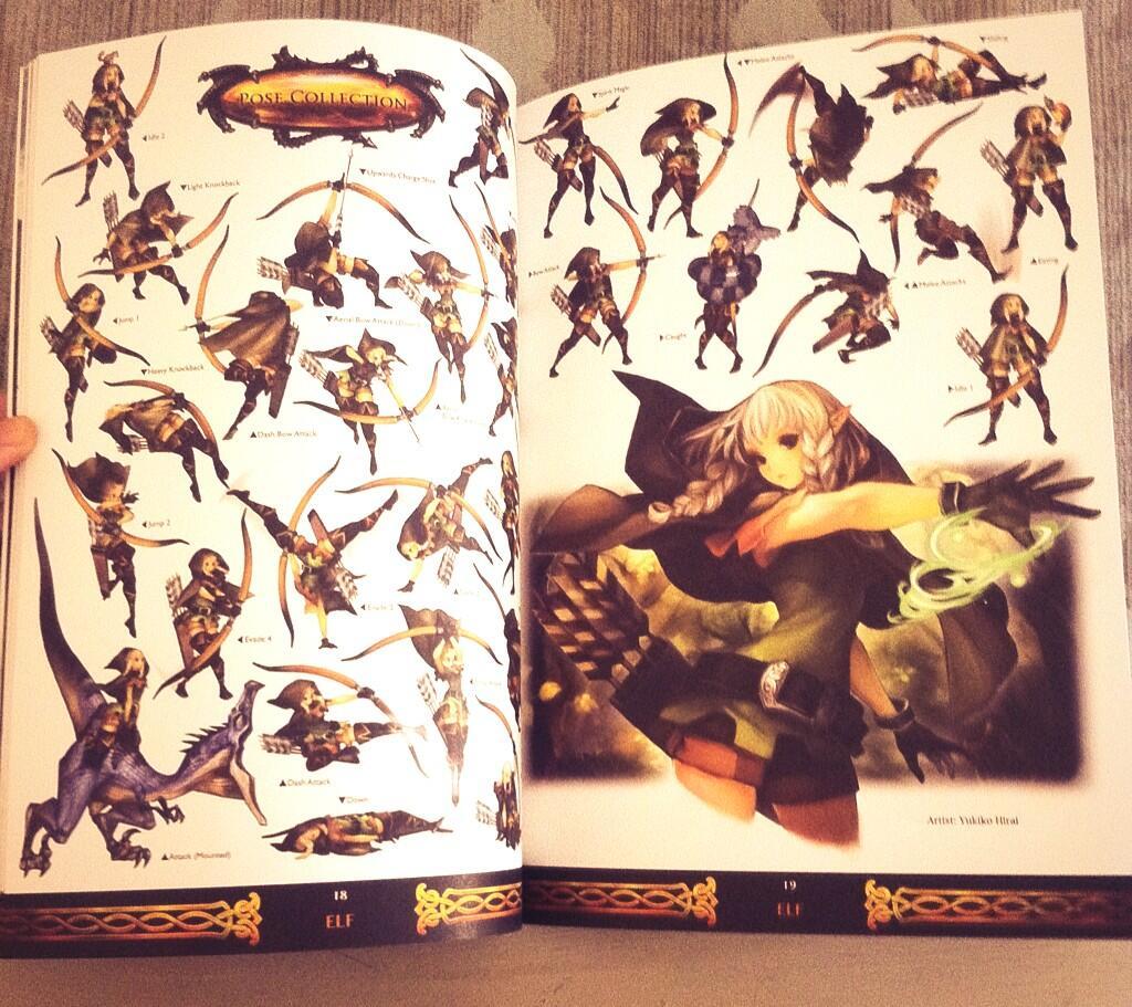dragons crown artbook