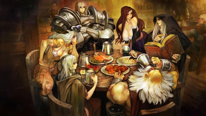 dragons crown characters