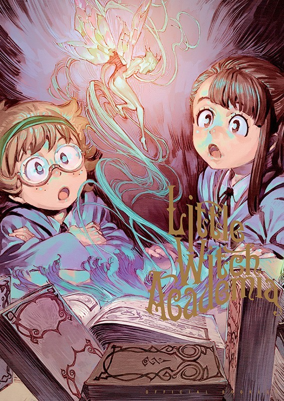 little witch academia artbook