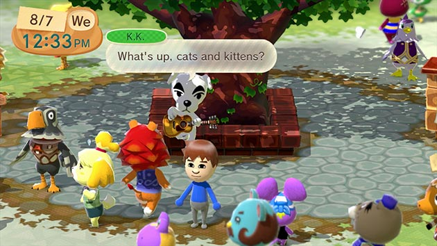 plaza animal crossing wii u 01 Plaza Animal Crossing ya disponible para Wii U