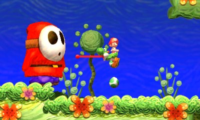 yoshis new island shy guy