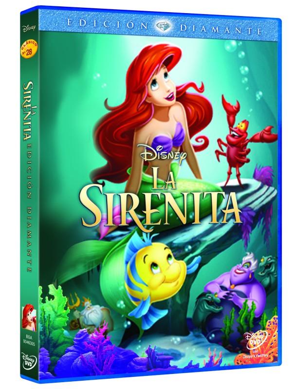 La Sirenita E.D. DVD