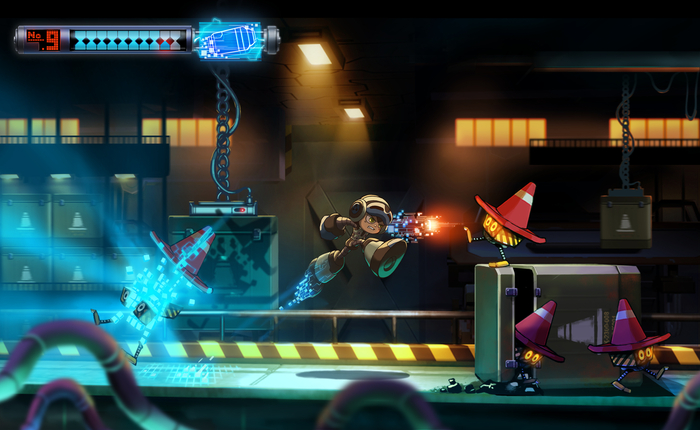 Mighty No 9 screens 03 Crowdfunding para Mighty No. 9, el nuevo Mega Man