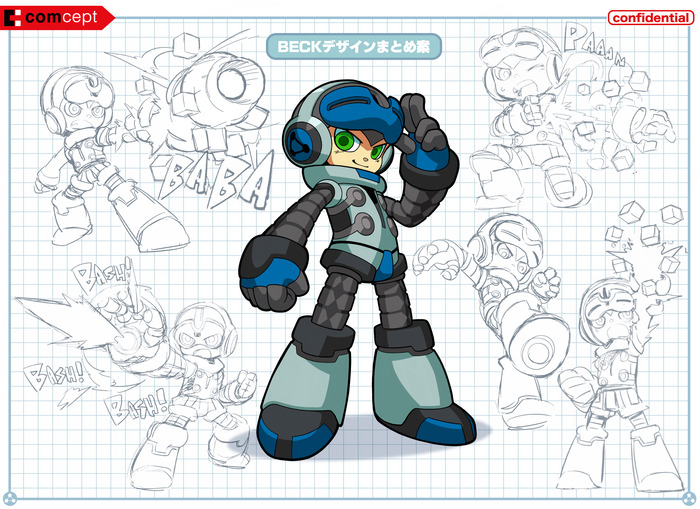 Mighty No 9 sketch 08