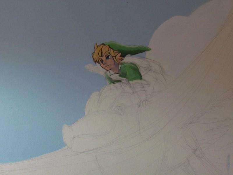 Zelda Skyward Sword pintura 03