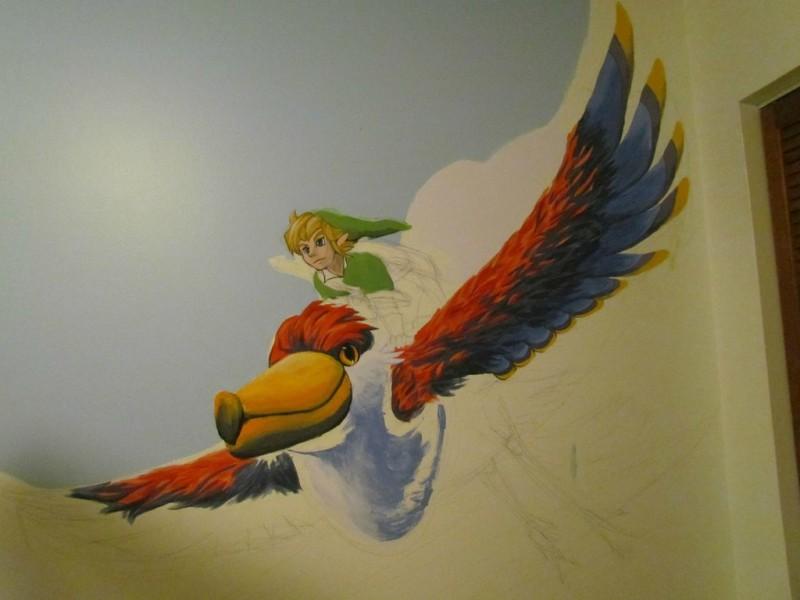 Zelda Skyward Sword pintura 09