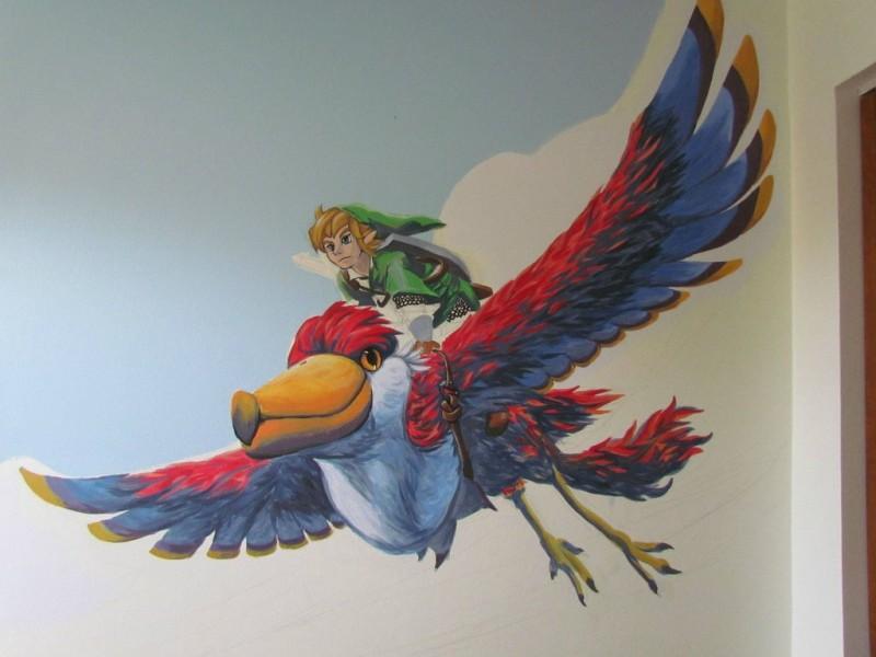 Zelda Skyward Sword pintura 11