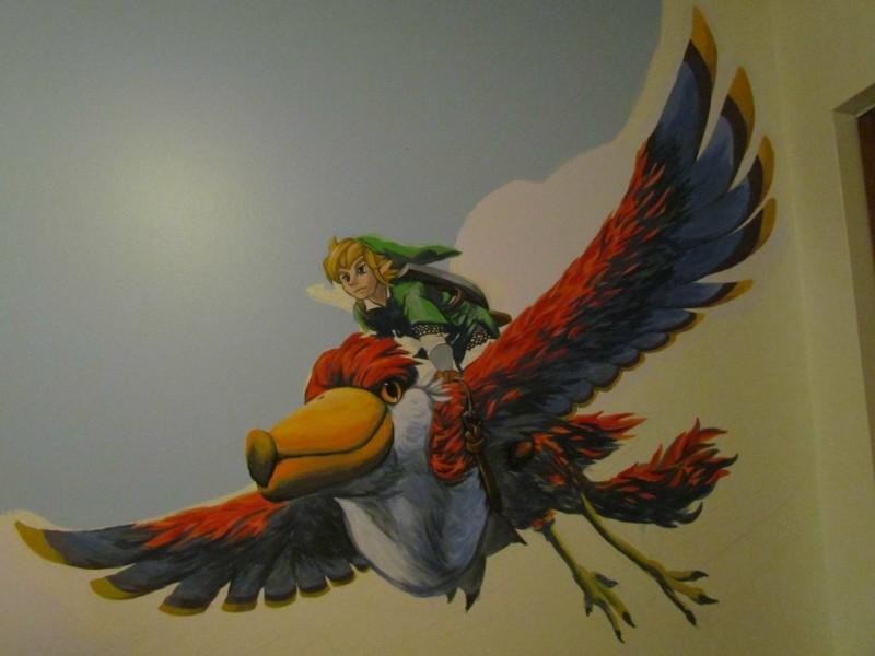 Zelda Skyward Sword pintura 13