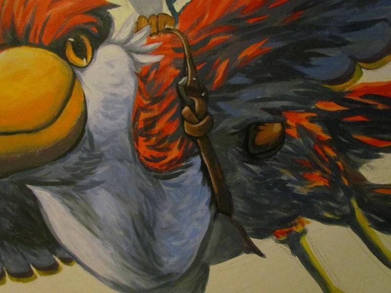 Zelda Skyward Sword pintura 14