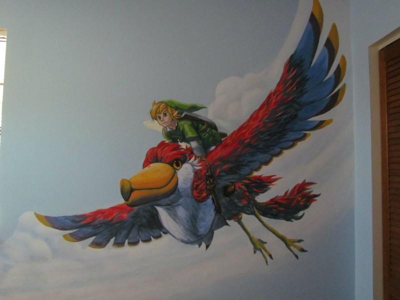 Zelda Skyward Sword pintura 17
