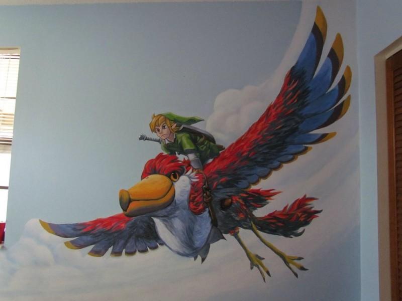 Zelda Skyward Sword pintura 20