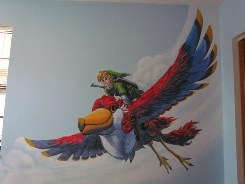 Zelda Skyward Sword pintura 23