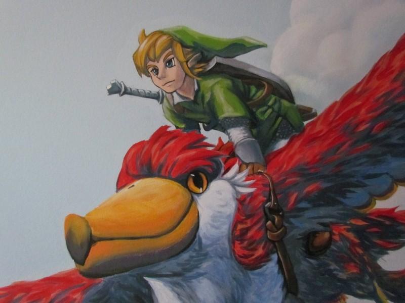 Zelda Skyward Sword pintura 36