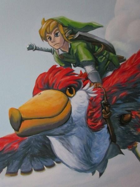 Zelda Skyward Sword pintura 37