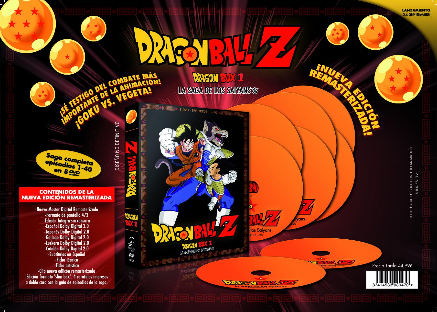 dragon ball z dragon box 1