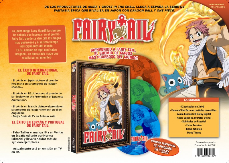 fairy tail anime 1 selecta