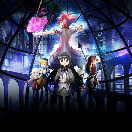 madoka magica the movie rebellion artwork