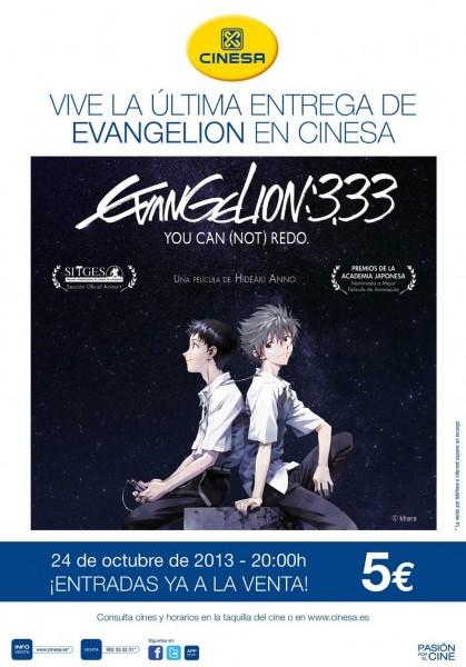 Evangelion cines espana