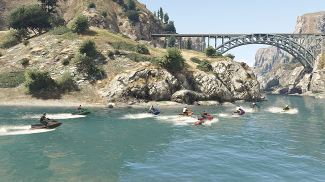 Grand theft auto v races