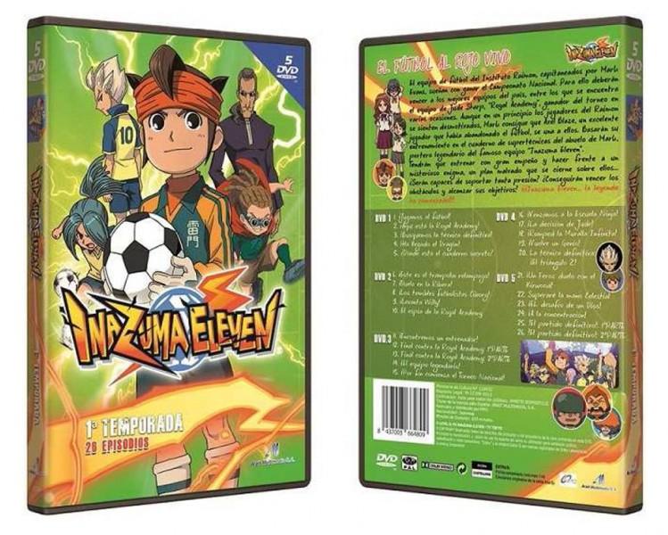 Inazuma Eleven DVD