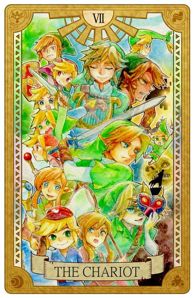 Tarot-Zelda-Chariot