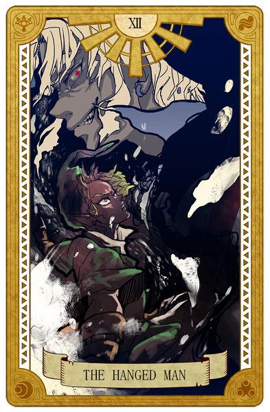 Tarot-Zelda-Hanged-Man