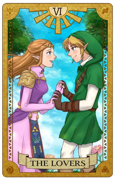Tarot-Zelda-Lovers