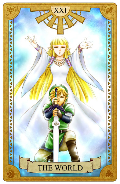 Tarot-Zelda-World