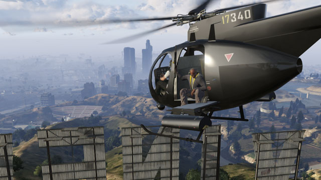 gta online helicopter