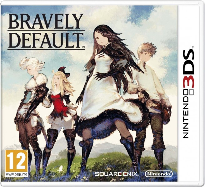 Bravely Default PAL Cover