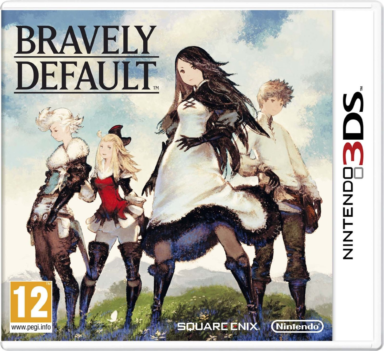 Bravely Default PAL Cover Análisis: Bravely Default