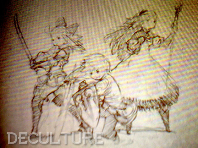 Bravely-Default-Sketch