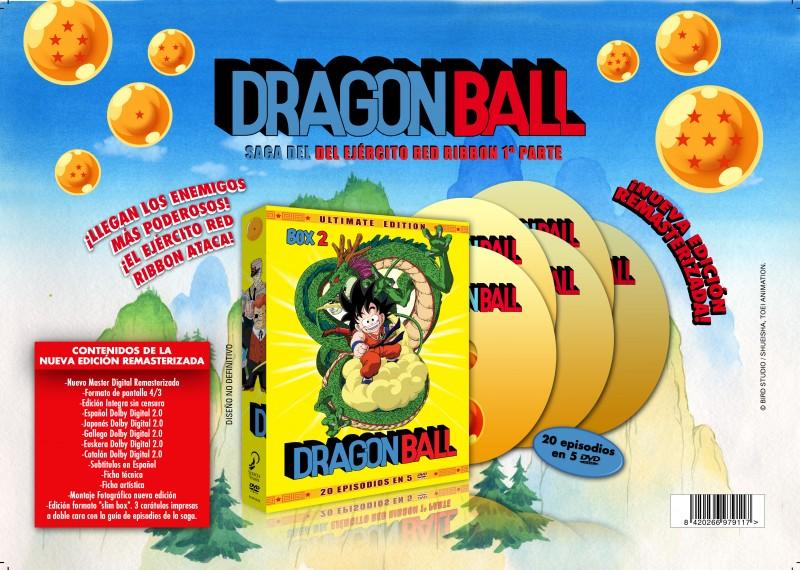 Dragon Ball Box 2 selecta