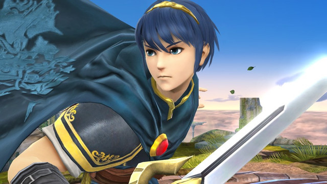 Marth Super Smash Bros