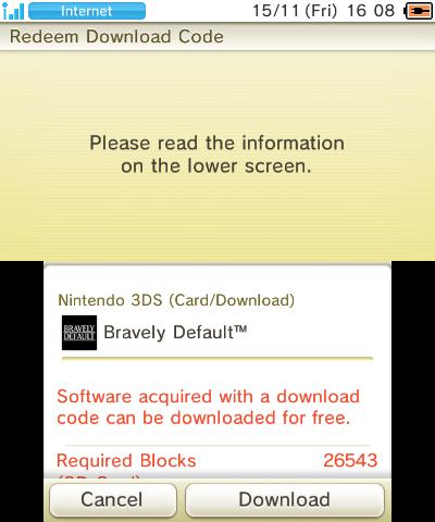 bravely default espacio