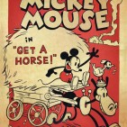 get a horse mickey mouse