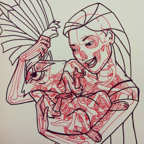 radiografia anime dibujos 08
