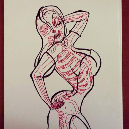 radiografia anime dibujos 10