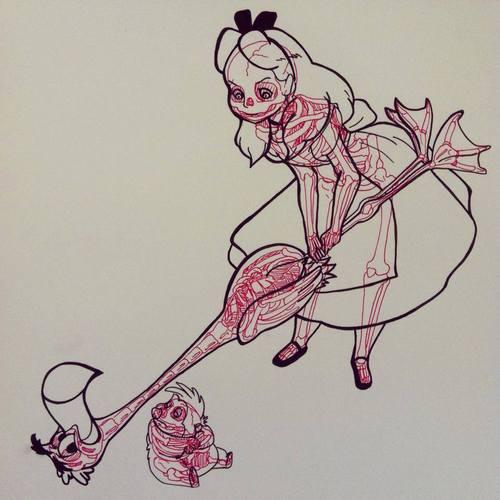 radiografia anime dibujos 14