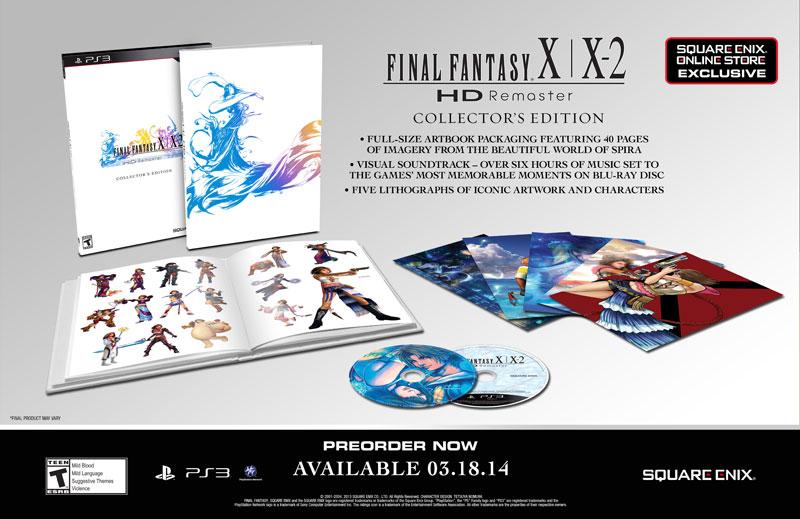 Final Fantasy X X2 Collectors