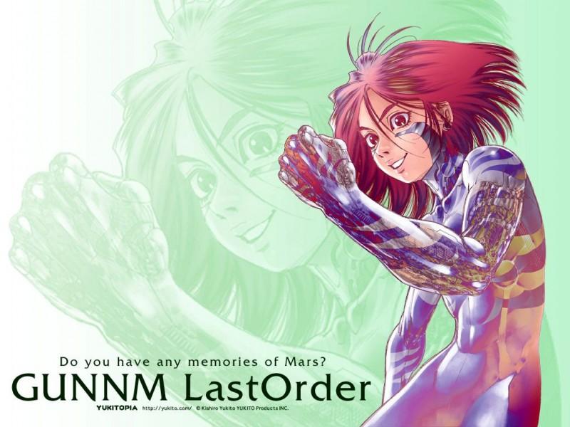 Gunnm Last Order artwork