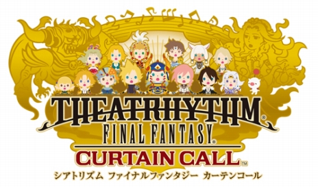 Theathrythm Final Fantasy Curtain Call logo