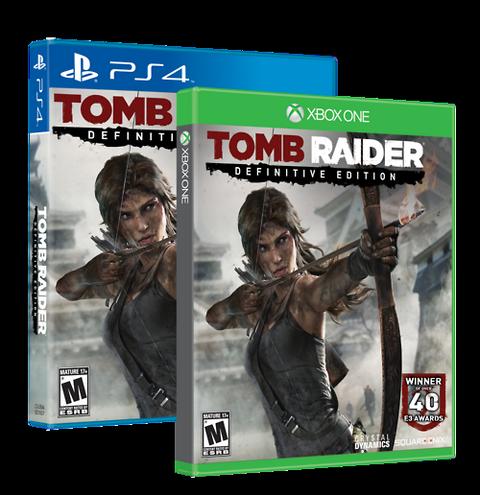 Tomb Raider Definitive Editon USA Cover