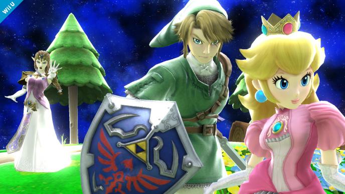 Zelda Super Smash Bros 3ds wiiu 10