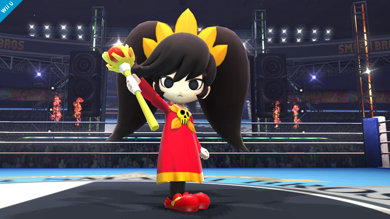 Ashley Super Smash Bros