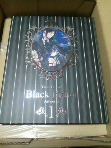Black Butler Artworks