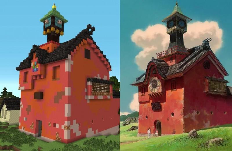 El viaje de Chihiro Minecraft 04
