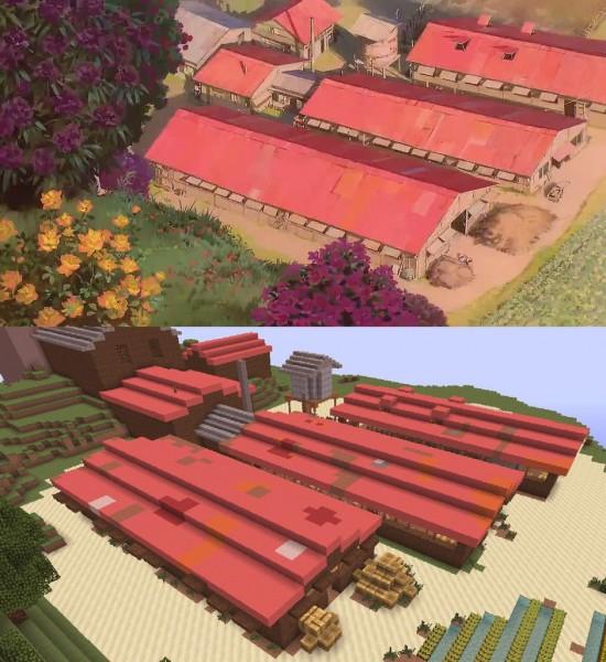El viaje de Chihiro Minecraft 10